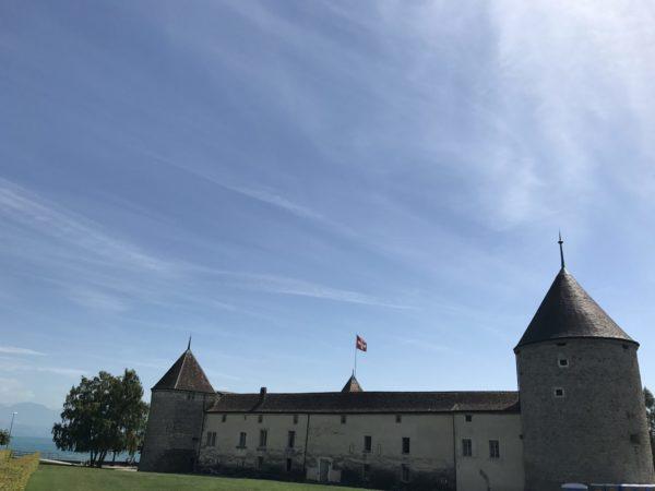 Zwischen Nyon und Lausanne