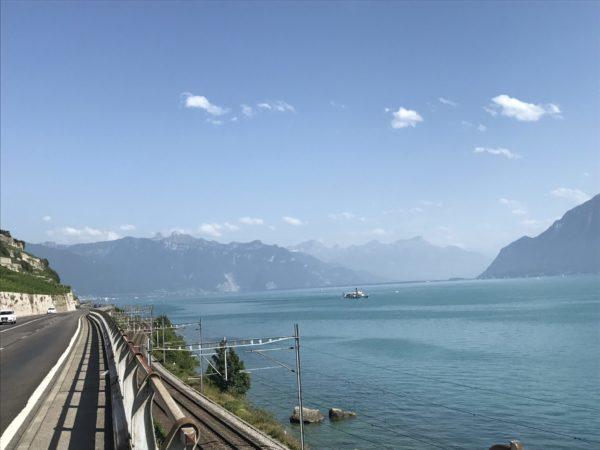Zwischen Lausanne und Vevey